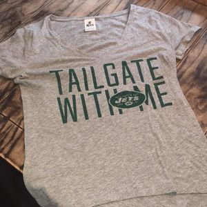 NY Jets PINK Tailgate with Me T shirt